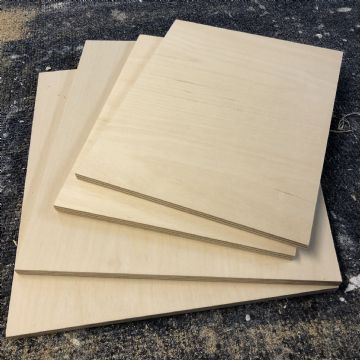 Birchwood Ply Panel - 10x12 inches